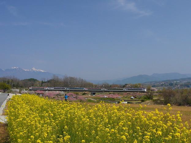 Photos: 中央線 新府 いろどり