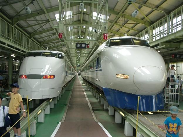 過去画像 浜松工場 300系と100系