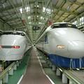 Photos: 過去画像 浜松工場 300系と100系