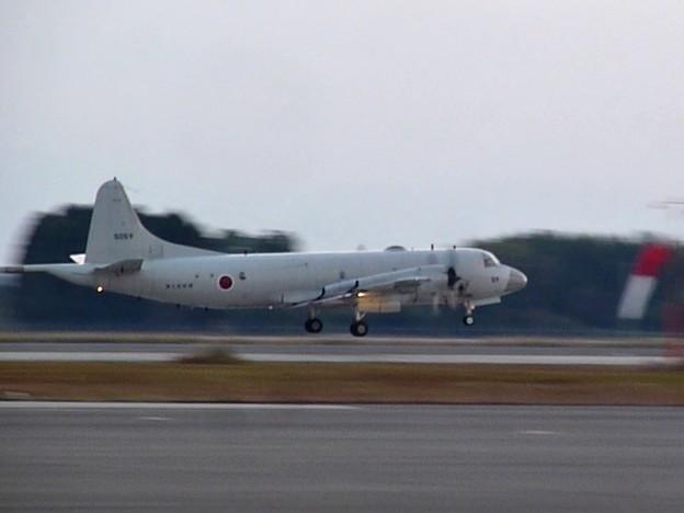 離陸するP-3C
