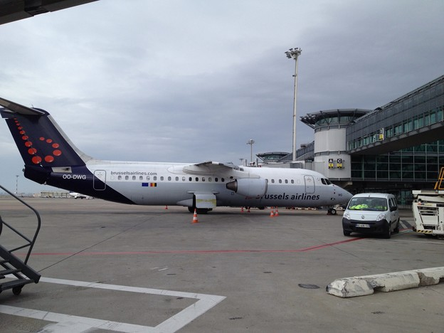 Avro RJ100 Burussel Airlines