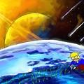 写真: 太陽系第三惑星でタマネギ定植
