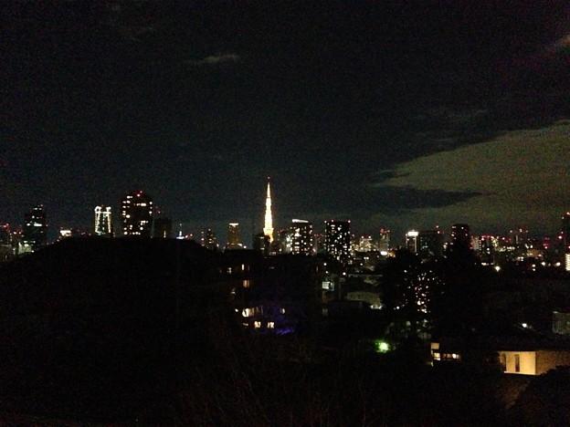 2012年12月31日21:15 麻布山より(2)
