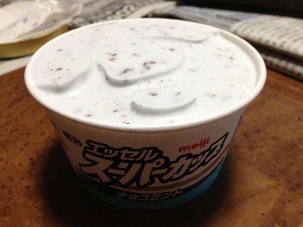 スーパーカップ チョコミント。