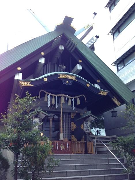 築土神社(千代田区九段北)