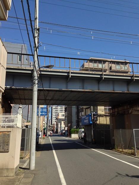 千住宿 関札場跡