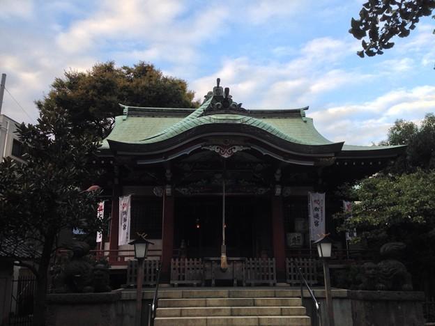 千住本氷川神社(千住3)