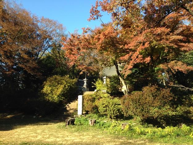 滝山城跡 霞神社(八王子市)