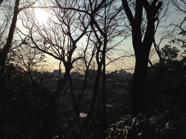 富士見櫓天辺より南西