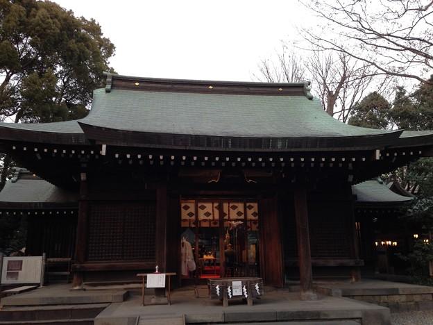 写真: 川越氷川神社  社殿