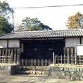 写真: 岩付城 黒門(さいたま市立岩槻城址公園)