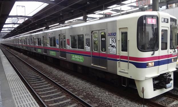 京王線系統9000系9731F(第80回日本ダービーラッピング編成)