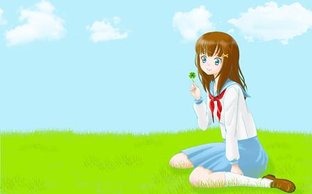 clover_girl_1920x1200