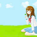 写真: clover_girl_1920x1200