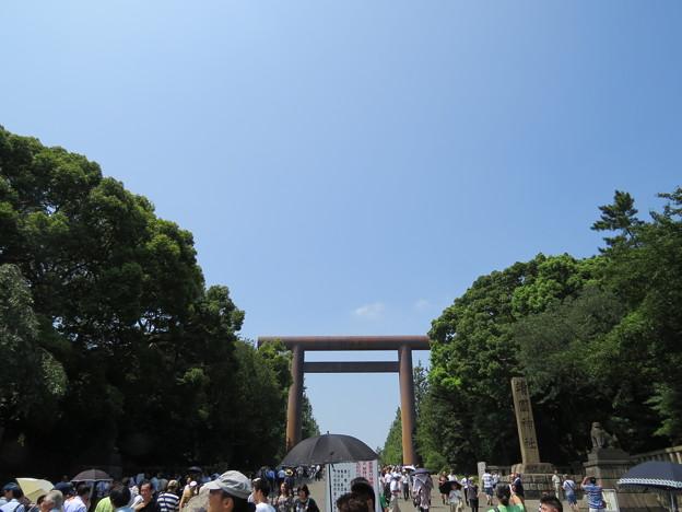 靖国神社-第一鳥居