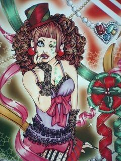 クリスマスイラスト 2009