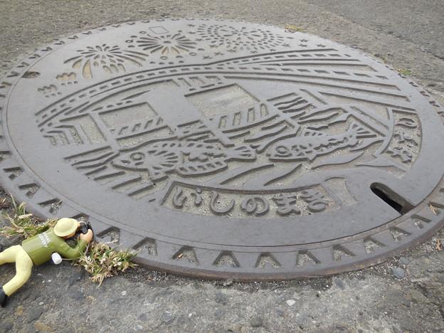 Photos: 石巻のマンホール