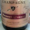 写真: 今年のワイン初めはボネポン...