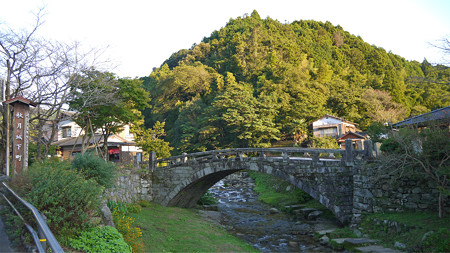 秋月の眼鏡橋