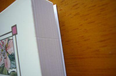 140125-4 ポストカードブックの傷
