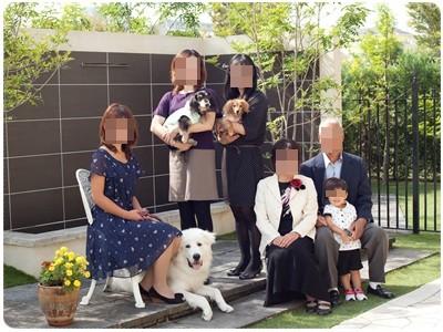 20121014 家族写真(母☆還暦祝い)