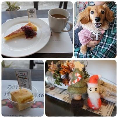 20121223 デザート&JURI用チーズケーキ