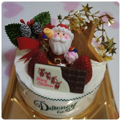 20121224 予約してたケーキ♪