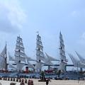 Photos: 海王丸 総帆展帆(そうはんてんぱん)完成