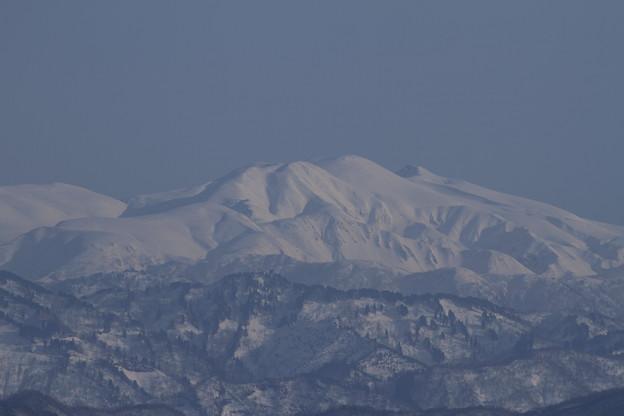 Photos: 白山アップで 木場潟から