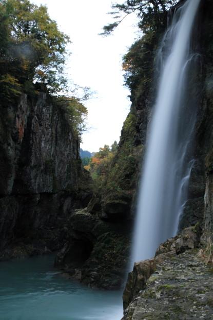 晩秋の綿ヶ滝(2)