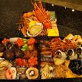 Photos: 今年のおせち三段