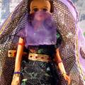 ?占い師?ジェニー・フレンドドール・エリー/タカラ☆MACKYsの手作りドールドレス&ハンドメイドお人形お洋服3