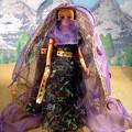?占い師?ジェニー・フレンドドール・エリー/タカラ☆MACKYsの手作りドールドレス&ハンドメイドお人形お洋服・大きいサイズ