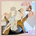 写真: リヤドロプレミアム展・スペイン大使館・作品・桜の樹の下で♪