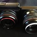 写真: 28mmと50mm