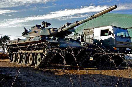 74式戦車ハイポジション