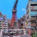 Photos: HDR 何者かに破壊された町並み・・20120729