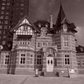 レトロの建造物。。国際友好記念図書館
