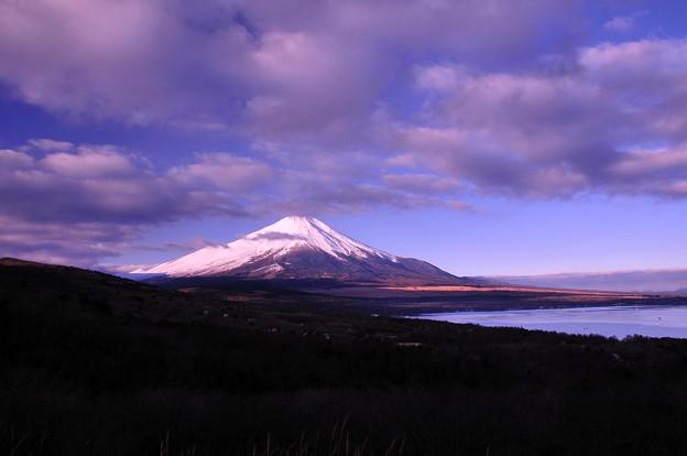 雲の切れ間から。。パノラマ展望台より20130105・・?