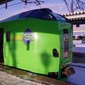 朝の函館駅 スーパー白鳥号 789系・・新青森へ