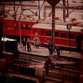 昼下がりの駅の風景・・20130922