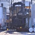 Photos: まだ朝焼け残る大井川鉄道SL整備中・・20131123