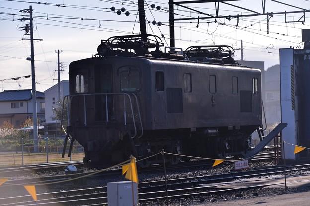 大井川鉄道 新金谷駅 牽引用電気機関車・・20131123