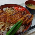 写真: 長州鳥ソースカツ丼(中国道【上り】・美東SA)