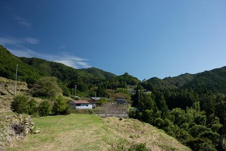 十津川村竹筒の絶景ポイント周辺