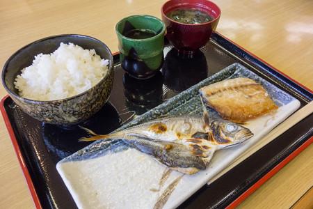 奥益旬の干物定食(道の駅・海山【三重】)