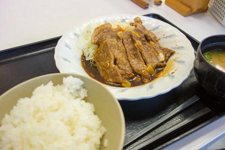 トンテキ定食(名阪国道【上り】・伊賀SA)
