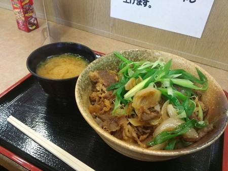 京都九条ねぎ牛丼(名神【下り】桂川・PA)