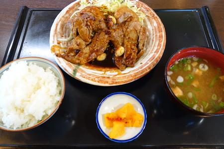 トンテキ定食(道の駅・関宿【三重】)