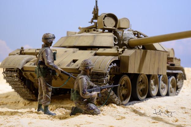 T-55エニグマ+米兵2名